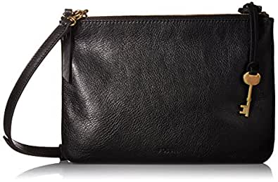 FOSSIL Women's Devon Bag, Black, One Size