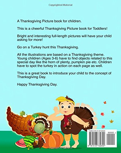 Children\'s Thanksgiving book: Where is my turkey: Thanksgiving baby ...