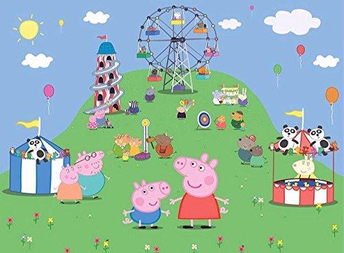 sdore Carnaval de Peppa Pig comestibles 1/4 hoja imagen ...