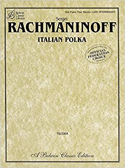 Book Italian Polka: Trumpet Part Included (Sheet) (Belwin Classic Library) by Rachmaninoff, Sergei (2004)