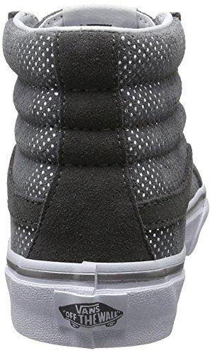 Vans Ua Sk8-Hi Slim, Zapatillas Altas para Mujer Gris (Metallic Dots)