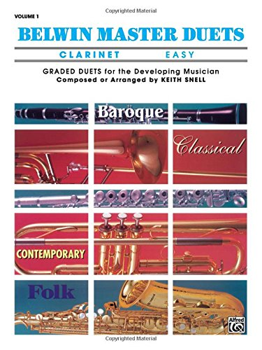 Belwin Master Duets (Clarinet), Vol 1: Easy