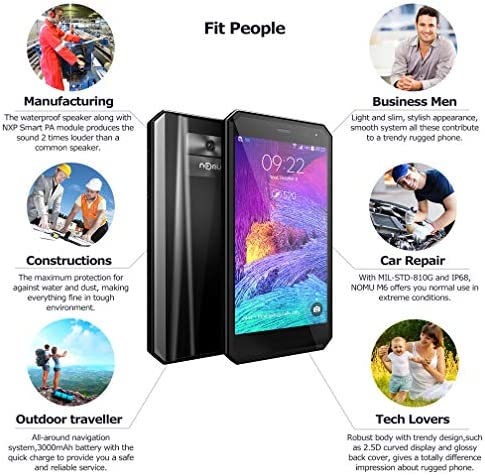 Movil Indestructible - Smartphone Resistente IP68 5.0 Pulgadas FHD ...