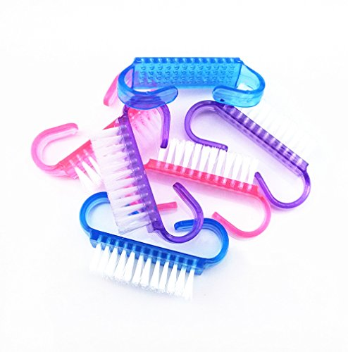 yueton Colorful Translucent Manicure Bristles