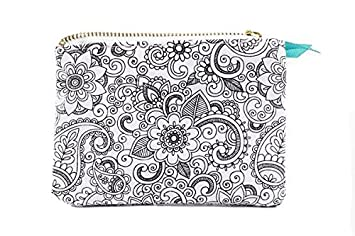 Color Joy Coloring Products Accessories Bag Small Floral Oasis