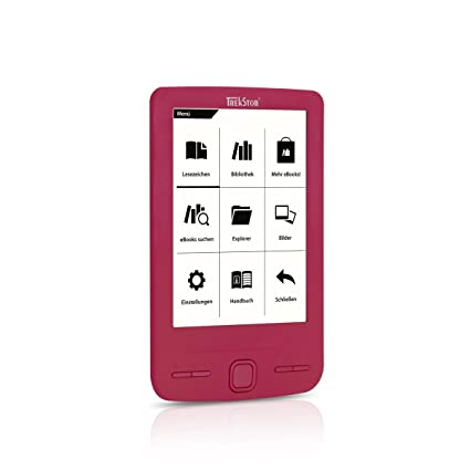 Trekstor® Liro Mini eBook-Reader Negro Digital Pantalla de tinta ...