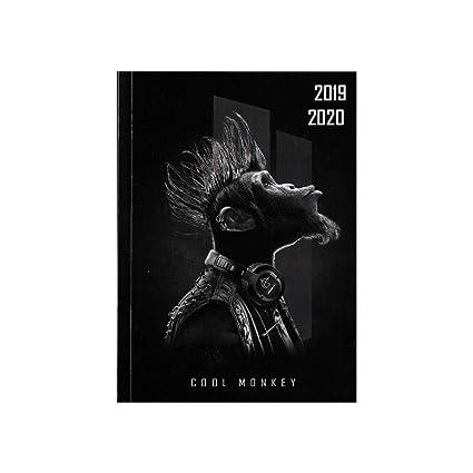 Agenda escolar 2019-2020 - Rasé Vif - francés - Bad Jungle ...