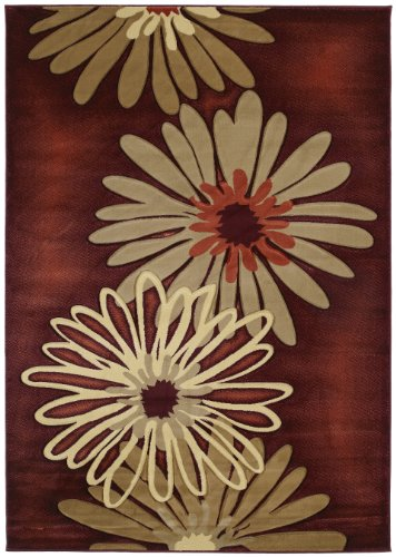 United Weavers Contours Collection Dahlia 1-Foot 10-Inch by