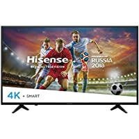 Hisense 43-Inch 4K Ultra HD Smart LED TV 43H6080E (2018)