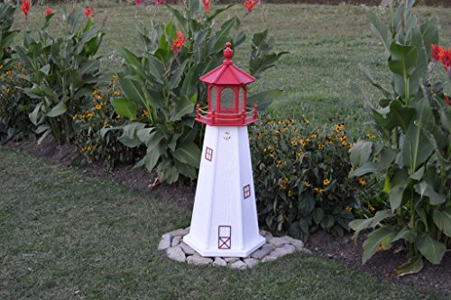 Wooded Replica USA Lighthouses-3 Foot-Cape May, N.J.