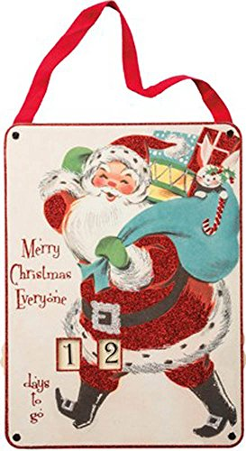 Primitive Christmas Santa - 2