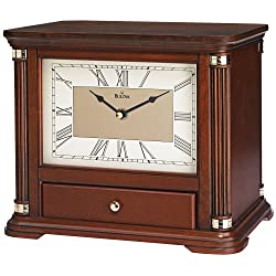 Bulova Norbourne Storage Mantel Clock