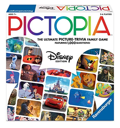 Pictopia-Family Trivia Game: Disney -