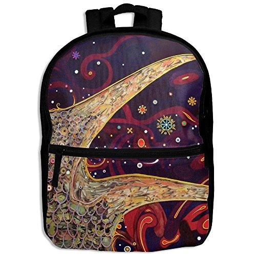 Mystical Gypsy Cute Personalized Printing Shoulders Kid Bag For Children School Kindergarten Backpacks With Zipper