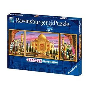 Ravensburger 19990 Trittico Taj Mahal Puzzle 1000 Pezzi Panorama