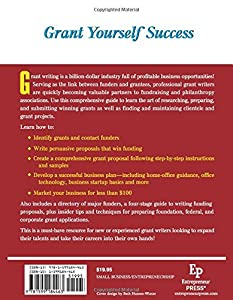 Start Your Own Grant Writing Business: Your Step-By-Step Guide to Success (StartUp Series) from Entrepreneur Press