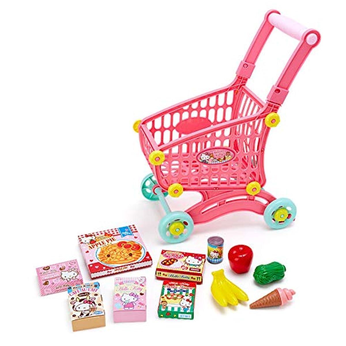 [해외] 헬로 키티 쇼핑 카트 놀이 세트