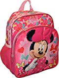 "Disney Minnie Mouse 3D Embossed 10"" Mini Backpack"