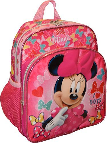 Logo Mini Backpack (Disney Minnie Mouse 3D Embossed 10