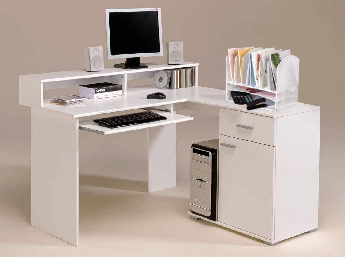 VANRA Metal Mesh Desktop File Organizer File Sorter Desk File Tray Organize with 2 Letter Trays and 6 Vertical Upright File Folder Holder Sections White