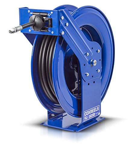 Spring Reel Rewind (Coxreels TMP-N-450 Supreme Duty Spring Rewind Hose Reel for air/water/oil: 1/2