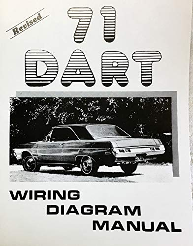 1971 Dodge Dart Factory Electrical Wiring Diagrams Schematics Dodge Chrysler Amazon Com Books