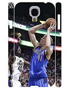 Geometric Collection Mobile Phone Case Powerful Person Basketball Athlete Graphic Solid Case Cover for Samsung Galaxy S4 I9500 (XBQ-0074T)