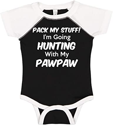 Im Going Fishing with My Pawpaw Pack My Stuff Toddler//Kids Sporty T-Shirt
