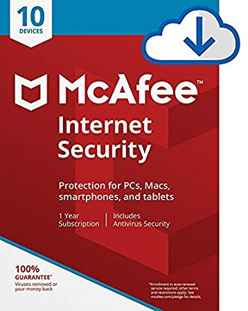 McAfee Internet Security - 10 Devices [Download Code]
