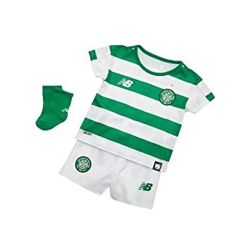95f27fa25 New Balance Celtic FC Baby Home Replica Set 2018-19  Amazon.co.uk ...