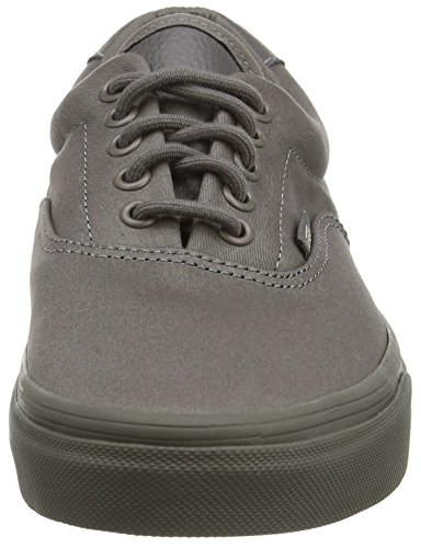 Authentic Gris Mixte amp;l mono Sneakers Vans brushed Adulte Nickel T RWqApxd