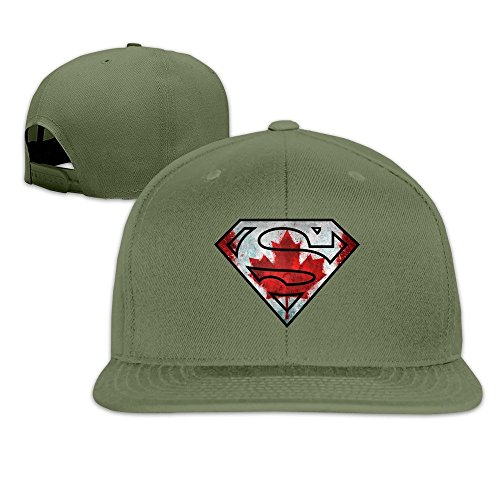 Runy Custom Super Canada Flag Adjustable Baseball Hat & Cap - Burch Tory Canada