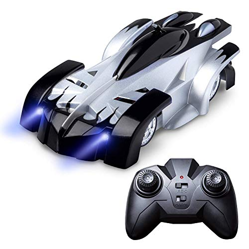 Zoostliss Gravity Defying Remote Control Car - RC Cars for Adults, Kids, Boys or Girls, Race Car Toys for Floor or Wall Ceiling, USB for Rechargeable Fast RC Car