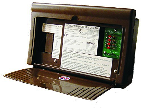 WFCO/ Arterra WF-8712-P RV Trailer Camper Electrical 8700 Series Power Center 30A Brown