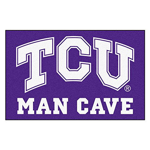 (Texas Christian University Man Cave Area Rug (Tailgater))