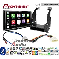 Volunteer Audio Pioneer AVH-W4400NEX Double Din Radio Install Kit with Wireless Apple CarPlay, Android Auto, Bluetooth Fits 2010-2012 Nissan Sentra