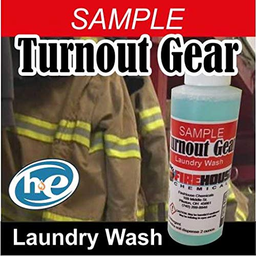 Sample Turnout Bunker Gear Laundry Detergent Wash