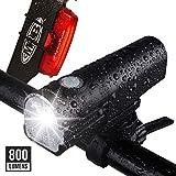 Apace Vision GlareFX Pro800 Bike Light Set USB
