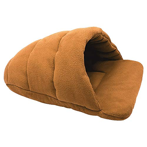 (FUMAK Dog Bed House for Small Dogs Dog Cat Kennel Mat Cat Sleeping Bag Sofa Warm Pet Cushion Nest for Small Medium Dog Cat Winter (XL,)