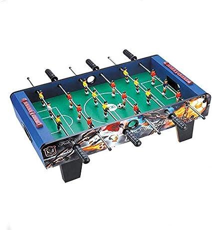 YUHT Futbolín Infantil,Mesa de futbolín,Juegos de Mesa de fútbol de Mesa Futbolín de fútbol de Mesa portátil Fútbol para Adultos y niños - fútbol de Mano recreativo, 69 * 37 * 24