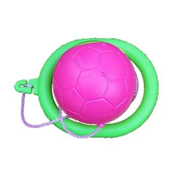 Niños adultos saltar bola juguete pelota de varios colores: Amazon ...