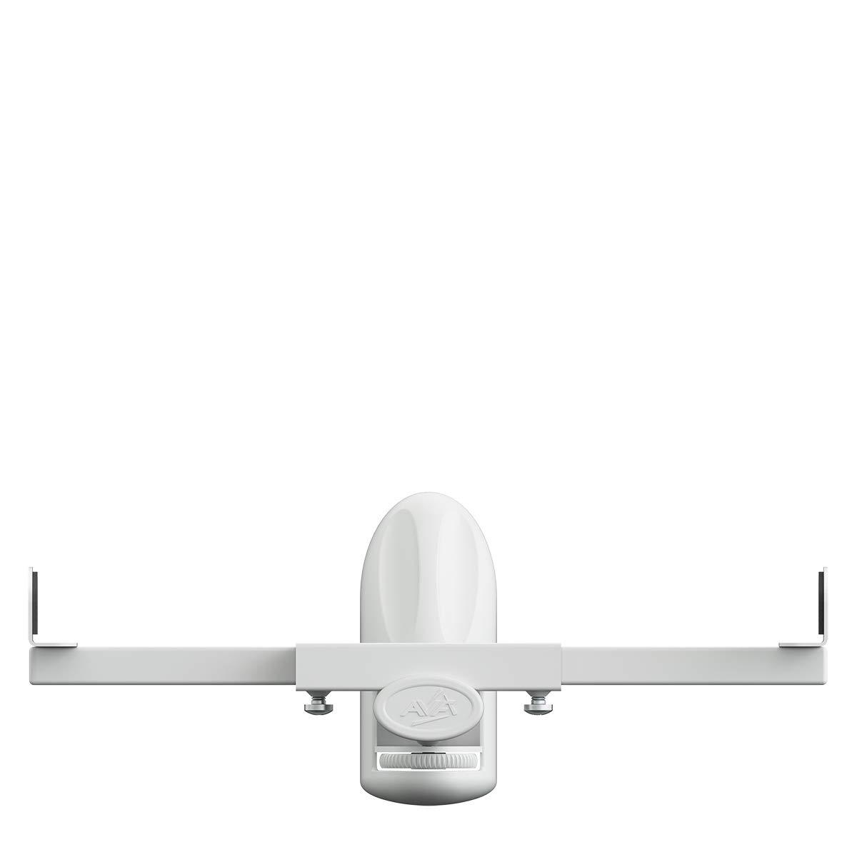 for Surround Sound Speakers Up to 20kg King Universal Tilt /& Swivel Speaker Wall Mount Bracket Pair White