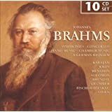 The Greatest Works of Johannes Brahms: Symphonies, Concertos, Piano Music, Chamber Music, A German Requiem