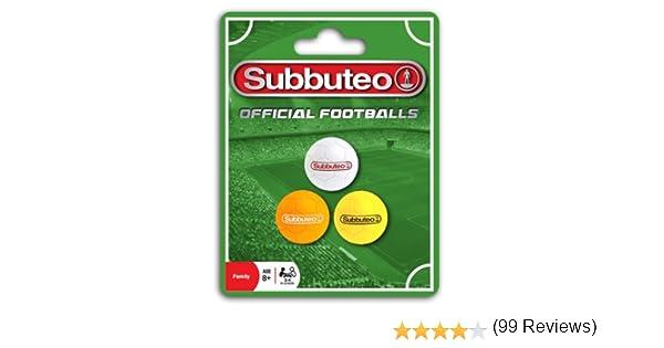 Paul Lamond Subbuteo - Pelotas de fútbol de Juguete: Amazon.es ...