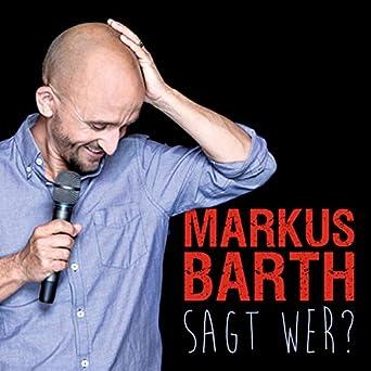Lustig und schlau - das muss ja kein Widerspruch sein: Markus Barth denkt nun mal gerne nach. Und so macht er auch in seinem neuen Stand-up-Programm das, was er am besten kann: lieb gewonnene Überzeugungen vom Sockel hauen und reihenweise Ausrufe- durch Fragezeichen ersetzen. Macht noch mehr Konsum mein Leben schöner oder nur voller? Muss ich zu jedem Thema eine Meinung haben - und wenn ja, wie schnell?  Wenn Computer uns wirklich die Arbeit abnehmen - warum machen wir dann nicht schon mittags Feierabend? Und wenn ich mit meiner Augencreme abrutsche - kann ich dann mit den Ohren blinzeln? So pflügt Markus Barth fröhlich durch sein und unser Leben und macht ganz schnell klar: Nichts bringt all die Welterklärer und Meinungströter so nachhaltig aus der Fassung, wie ein gut gelaunter Zweifler.  Sagt wer? Hörbuch – Ungekürzte Ausgabe Markus Barth (Autor, Sprecher), WortArt (Verlag)