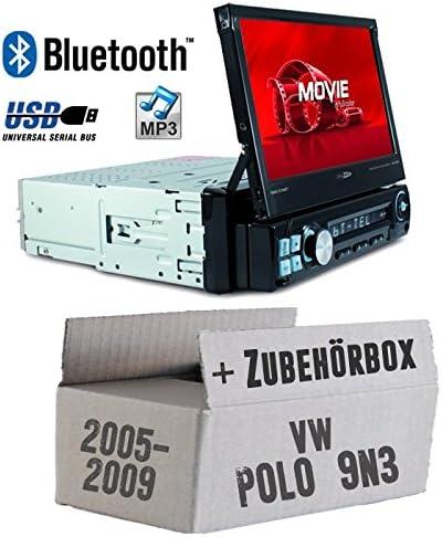 Autoradio Radio Caliber Rmd574bt Bluetooth Mp3 Usb Sd 7 Tft Einbauzubehör Einbauset Für Vw Polo 9n3 Just Sound Best Choice For Caraudio Navigation