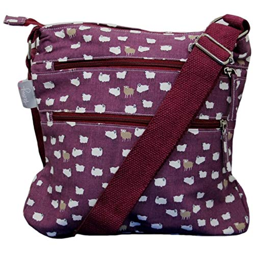 A L Donna Borsa Possum Uk Purple Tracolla 1pTOxx