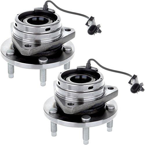 ECCPP 2 PCS New Front Wheel Hub Bearing Assembly Fits Chevy Cobalt G6 Malibu ABS 5 Lugs 513214
