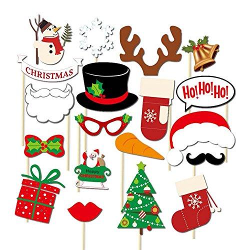 1 opinioni per Veewon Nuove felice Natale Photo Booth Bonus per il partito di natale Forniture