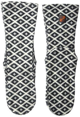 Acorn Unisex Versafit Sock Slipper, Black/Cream Southwest, Medium Standard US Width US